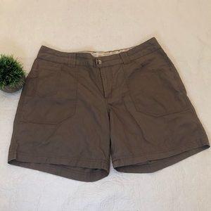 columbia womens brown shorts